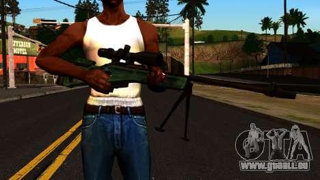 SV-98 mit einem Zweibein und Umfang für GTA San Andreas dritten Screenshot
