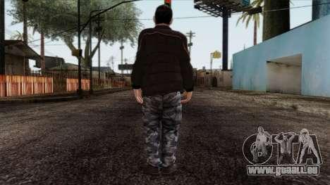 GTA 4 Skin 87 pour GTA San Andreas deuxième écran