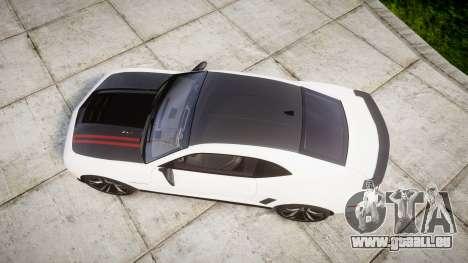Chevrolet Camaro ZL1 2012 Redline für GTA 4 rechte Ansicht