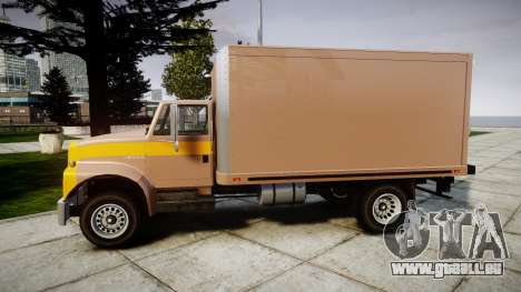 Ford L8000 für GTA 4 linke Ansicht