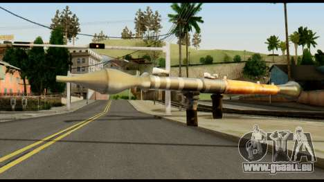 RPG7 from Metal Gear Solid pour GTA San Andreas