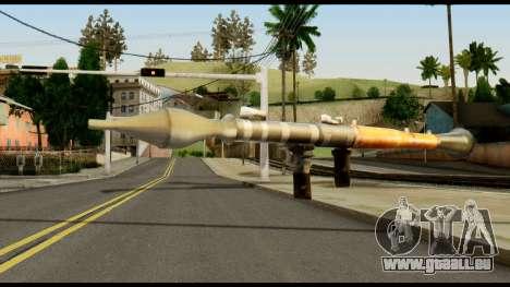 RPG7 from Metal Gear Solid für GTA San Andreas