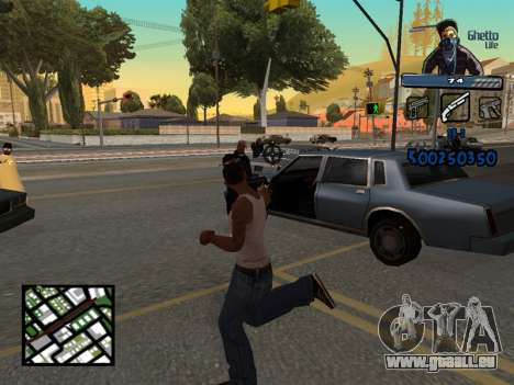 C-HUD Unique Ghetto für GTA San Andreas her Screenshot