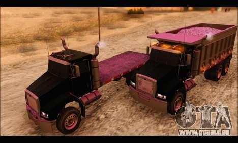 HVY Biff (GTA IV) pour GTA San Andreas vue de droite