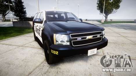 Chevrolet Tahoe 2013 County Sheriff [ELS] pour GTA 4