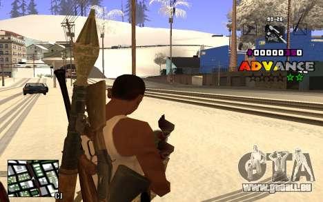 C-HUD Advance RP für GTA San Andreas dritten Screenshot