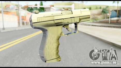 New Pistol pour GTA San Andreas deuxième écran