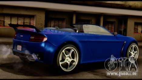 GTA 5 Dewbauchee Rapid GT Cabrio [HQLM] pour GTA San Andreas vue de droite