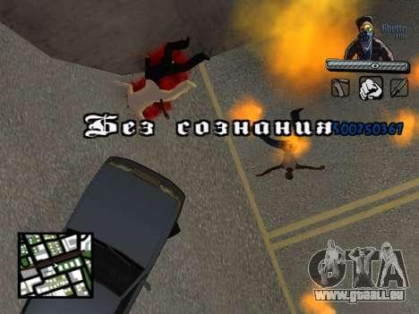 C-HUD Unique Ghetto für GTA San Andreas siebten Screenshot