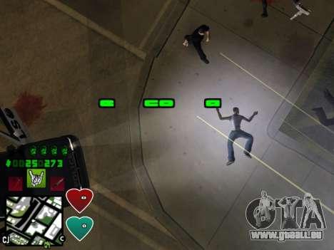 C-HUD Classic v4.1 pour GTA San Andreas sixième écran