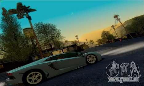 White Water ENB pour GTA San Andreas troisième écran
