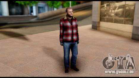 Prologue Michael Skin from GTA 5 für GTA San Andreas dritten Screenshot
