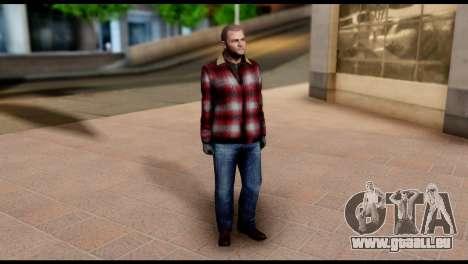 Prologue Michael Skin from GTA 5 für GTA San Andreas dritten Screenshot