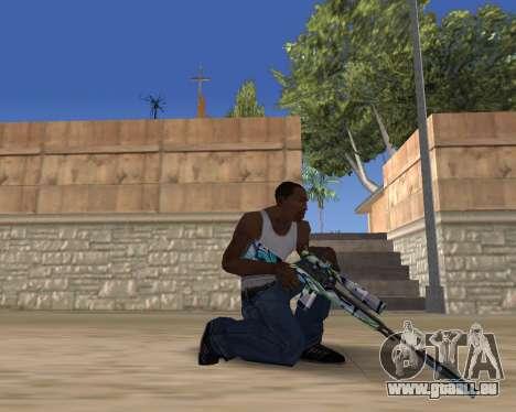 Graffity weapons pour GTA San Andreas troisième écran
