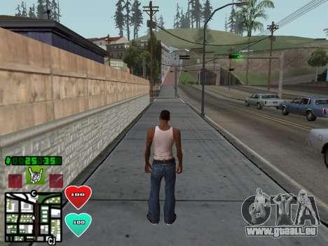 C-HUD Classic v4.1 pour GTA San Andreas