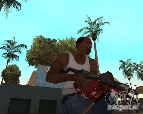 Neues Jahr-Waffen-pack v2 für GTA San Andreas fünften Screenshot
