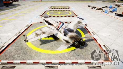 McDonnell Douglas FA-18 Hornet pour GTA 4 est une gauche