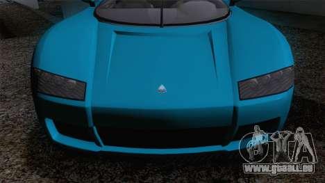 GTA V Overflod Entity XF v.2 für GTA San Andreas zurück linke Ansicht