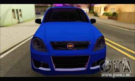 Chevrolet Celta Spirit VHC-E 2011 für GTA San Andreas rechten Ansicht