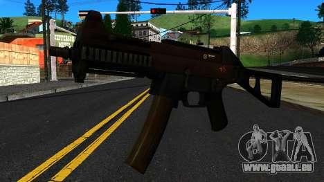 UMP9 from Battlefield 4 v1 für GTA San Andreas