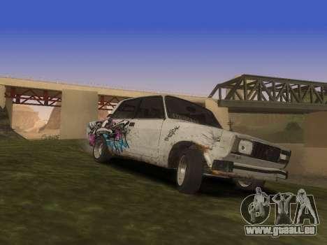 VAZ 2105 Rusty Trog für GTA San Andreas Seitenansicht