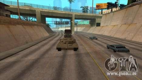 Cuve de Transport de la remorque pour GTA San Andreas quatrième écran