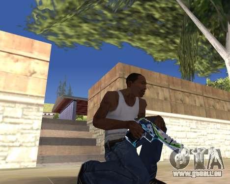 Graffity weapons für GTA San Andreas fünften Screenshot