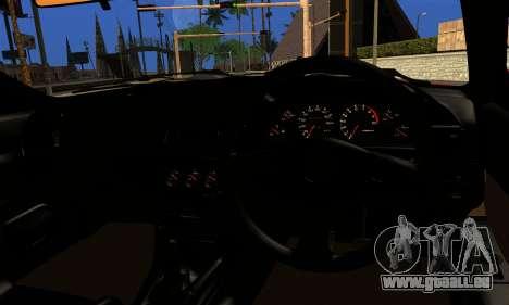 Nissan Skyline Stance für GTA San Andreas zurück linke Ansicht