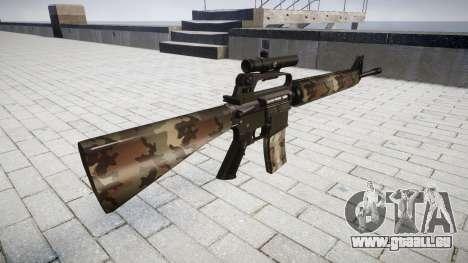 Le M16A2 fusil [optique] erdl pour GTA 4 secondes d'écran