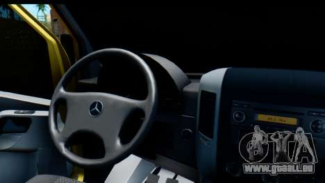 Mercedes-Benz Sprinter De La Collection De La Ru pour GTA San Andreas vue de droite