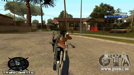 HUD Ghetto Tawer für GTA San Andreas zweiten Screenshot
