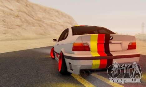 BMW M3 E36 German Style für GTA San Andreas linke Ansicht