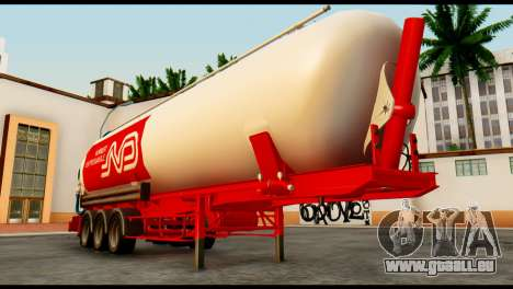 Mercedes-Benz Actros Trailer ND pour GTA San Andreas