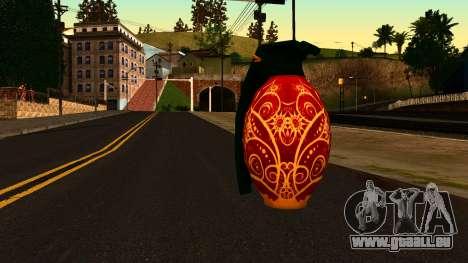 Weihnachten Granatapfel für GTA San Andreas zweiten Screenshot