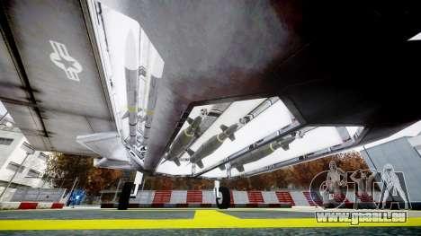 Lockheed F-121 Switchblade pour GTA 4 est un droit