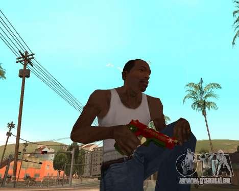 Neues Jahr-Waffen-pack v2 für GTA San Andreas sechsten Screenshot
