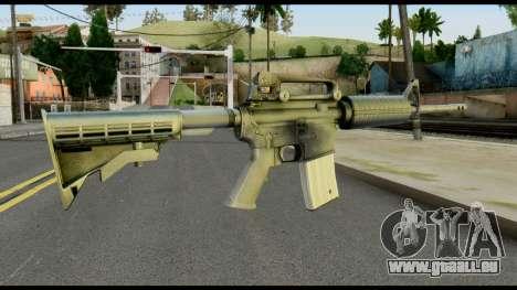 Colt Commando from Max Payne pour GTA San Andreas deuxième écran