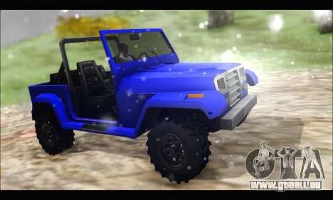 Mesa Off-Road für GTA San Andreas