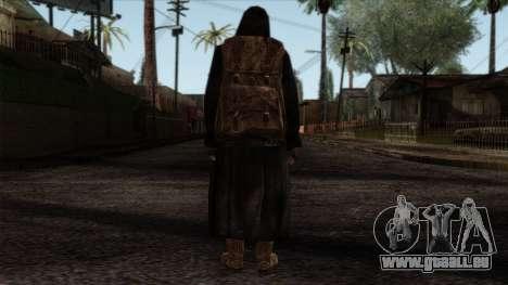 Resident Evil Skin 8 pour GTA San Andreas deuxième écran