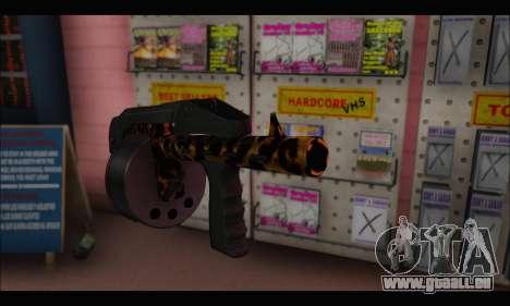 Leopardo Combat pour GTA San Andreas troisième écran