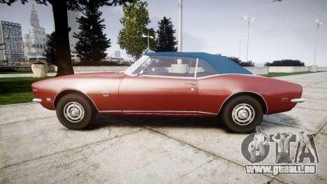 Chevrolet Camaro Mk.I 1968 rims1 pour GTA 4 est une gauche