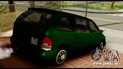 New Moobeam für GTA San Andreas linke Ansicht