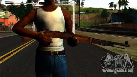 Mauser 98K from Wolfenstein 2009 pour GTA San Andreas troisième écran