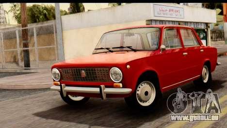 VAZ 2101 Zhiguli pour GTA San Andreas