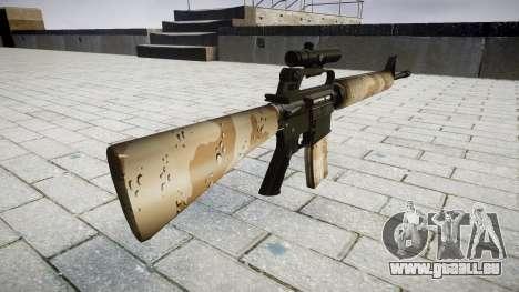 Die M16A2 Gewehr [optisch] nevada für GTA 4 Sekunden Bildschirm