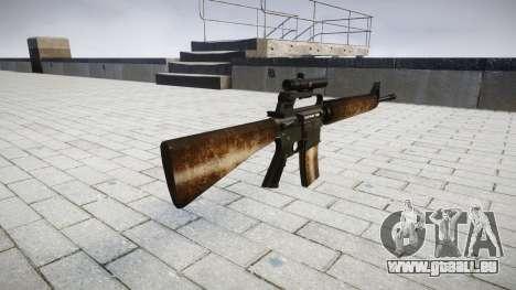 Die M16A2 Gewehr [optisch] dusty für GTA 4 Sekunden Bildschirm
