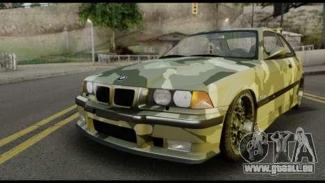 BMW M3 E36 Camo Drift für GTA San Andreas