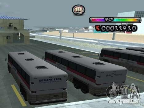 C-HUD durch nester_n für GTA San Andreas her Screenshot