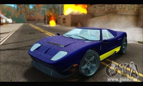 Vapid Bullet Gt (GTA IV) (LC Plate) pour GTA San Andreas