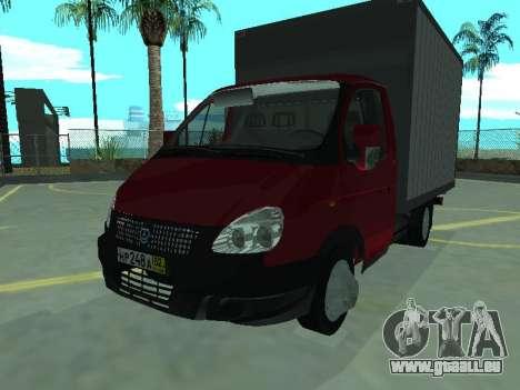 GAZel 3302 für GTA San Andreas